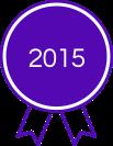 2015 Award - Purple Ribbion
