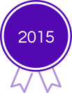 2015 Award - Purple Ribbion